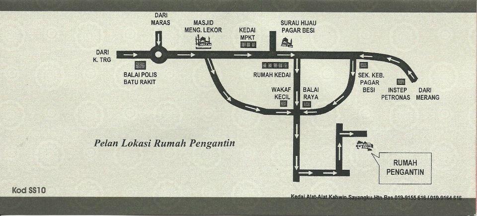 Peta lokasi ku