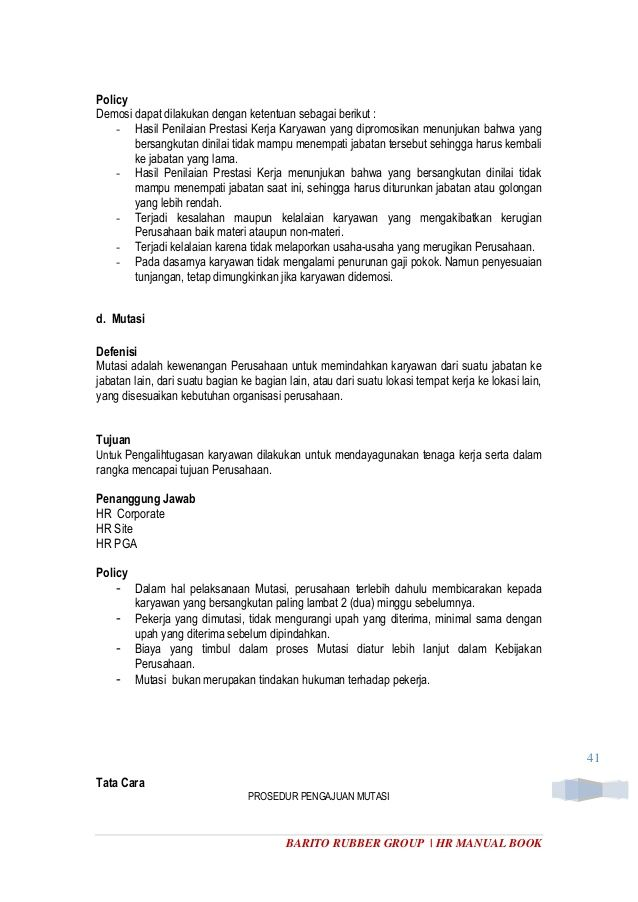 Cara Membuat Pelan Lokasi Rumah Pengantin Hebat Human Resource Manual Book Rev 1