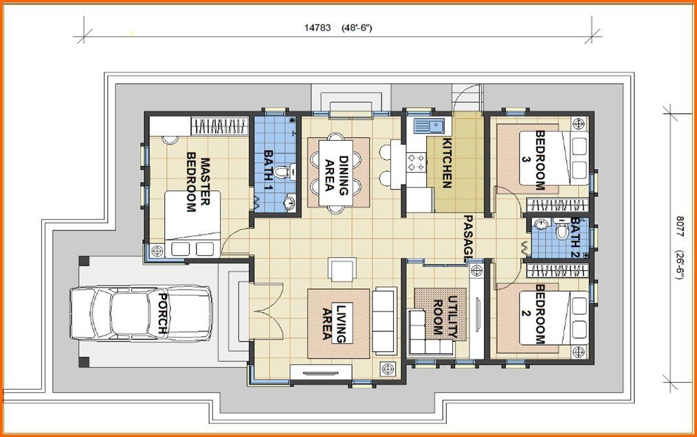 Plan Rumah Banglo Setingkat 4 Bilik Brad Erva Doce Info