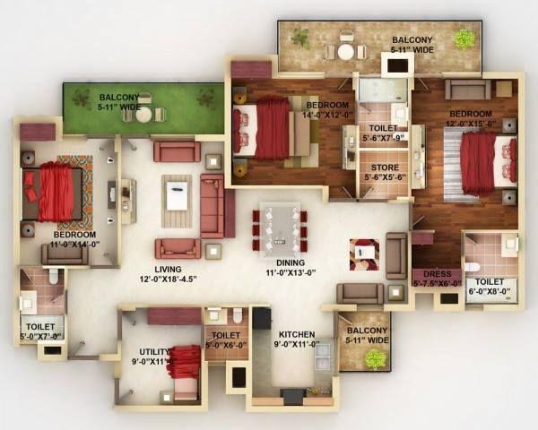 Contoh Pelan Rumah Banglo Setingkat Bernilai Pelan Rumah Banglo Setingkat Ala Resort — Bradva Docefo