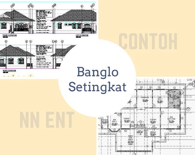 Contoh Pelan Rumah Banglo Setingkat Hebat Pelan Rumah Banglo Setingkat — Bradva Docefo