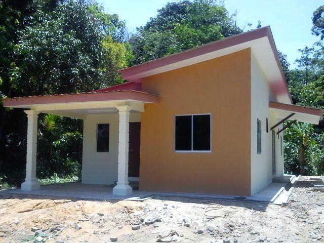 Contoh Pelan Rumah Kos Sederhana Bermanfaat Projek Banglo Kos Rendah Satu Tingkat Kg Bekelam Bachok