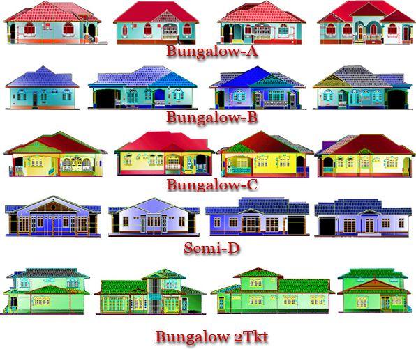 Contoh Pelan Rumah Spp Meletup Bina Sendiri Banglo