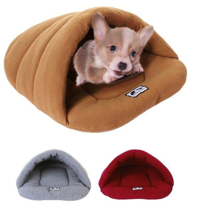 Pet Bed Rumah Padat 1 PC Lembut Pet Lembut Warm Bed Rumah Plush Cozy Nest Mat Pad Cushion Dog Puppy Cat Sofa Tikar Grosir D29