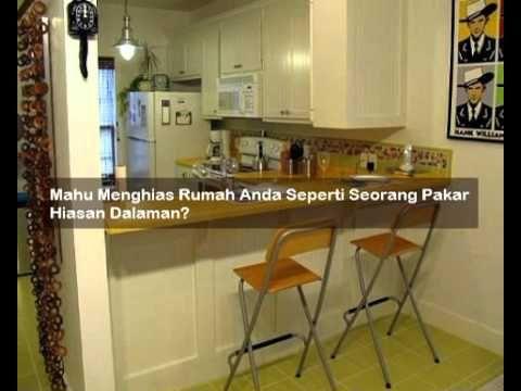 Deko Dapur Rumah Bernilai Contoh Hiasan Dalaman Rumah