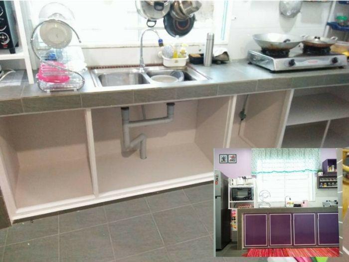 Bagi Deko Dapur Rumah Kampung