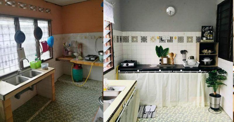 Deko Dapur Rumah Ppr Menarik Modal Rm 101 92 Untuk Cantikan Dapur Dan Bilik Air Impiana