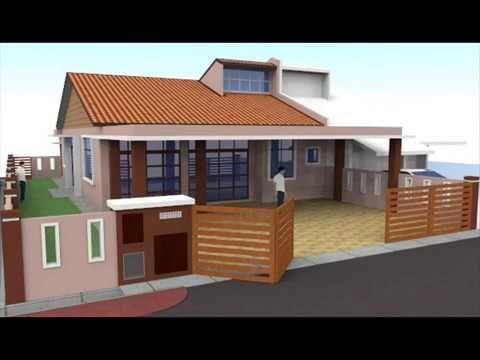 jom tengok pelbagai cara untuk deko depan rumah teres