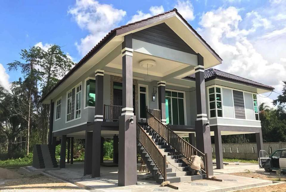 Deko Halaman Rumah Kampung Menarik Design Kreatif Kontraktor Ini Berjaya Zahirkan Rumah Kampung Moden