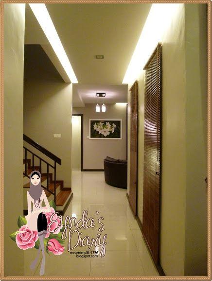 Deko Pintu Masuk Rumah Penting Eynda S Diary Baru Berseri Sikit Rumah Tu
