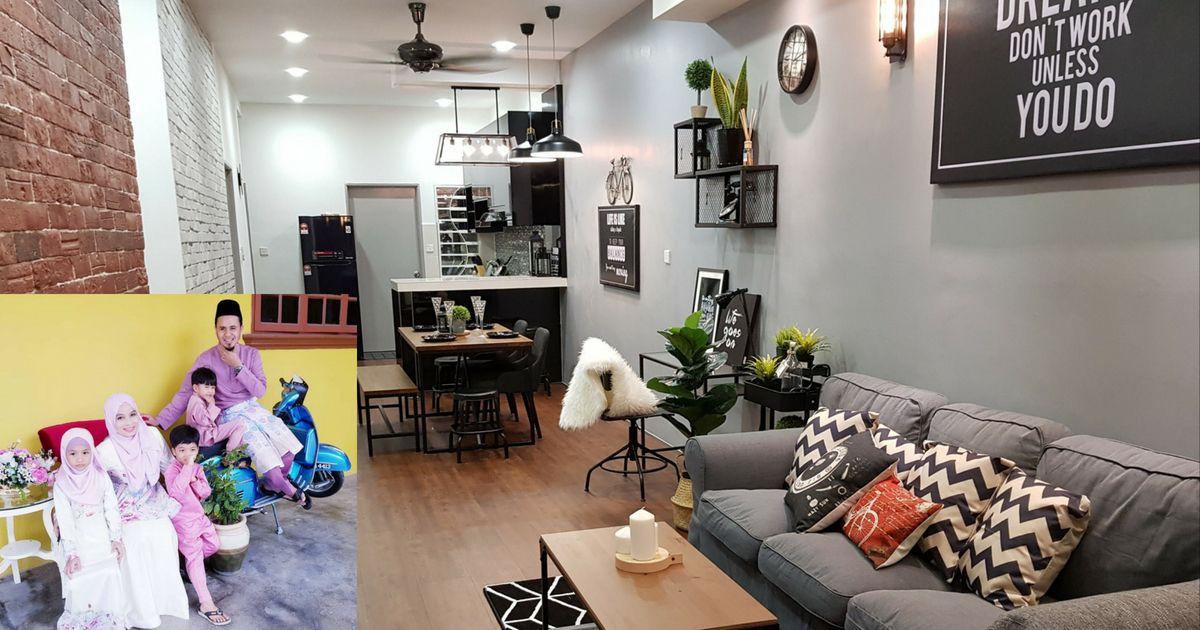 Deko Ruang Dapur Rumah Flat Berguna Kreatifnya Cikgu Ini Dekor Rumah Konsep Hipster Sebelum Dan Selepas