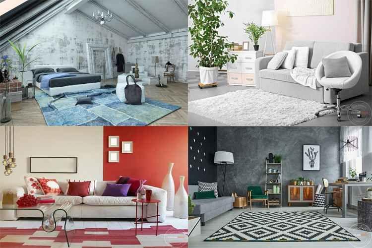 Dekorasi Ruang Tamu Unik 18 Menyenangkan Ide Kreatif Dari Murah Dan Unik Karpet Bisa Mempercantik Interior