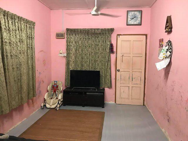 Deko Ruang Tamu Rumah Kos Rendah Bermanfaat Dengan Modal Hanya Rm2 000 Wanita Ini Berjaya Ubah Suai Rumah Dalam