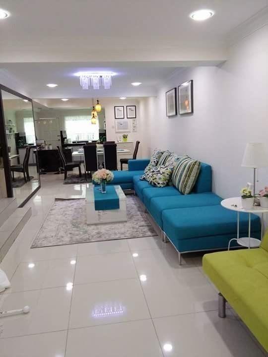 Ruang Tamu Simple Dan Moden Desainrumahid Com