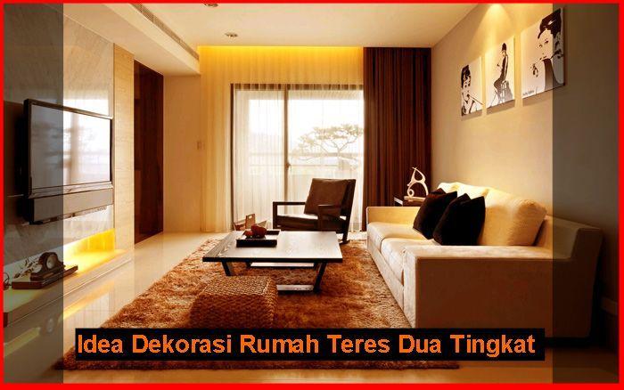 Deko Ruang Tamu Rumah Teres Bermanfaat Idea Dekorasi Rumah Teres Dua Tingkat