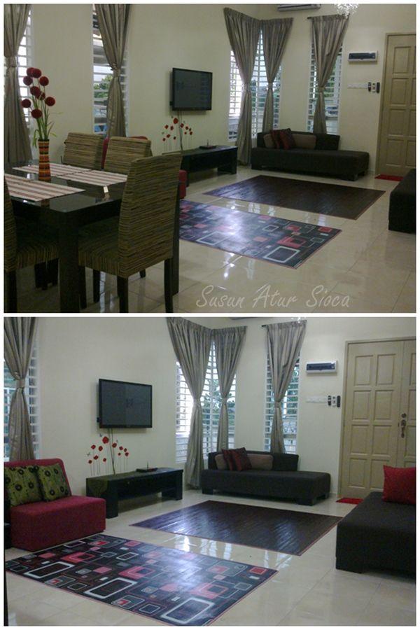 Perkongsian Pelbagai Contoh Untuk Deko Ruang Tamu Rumah Teres Deko Rumah