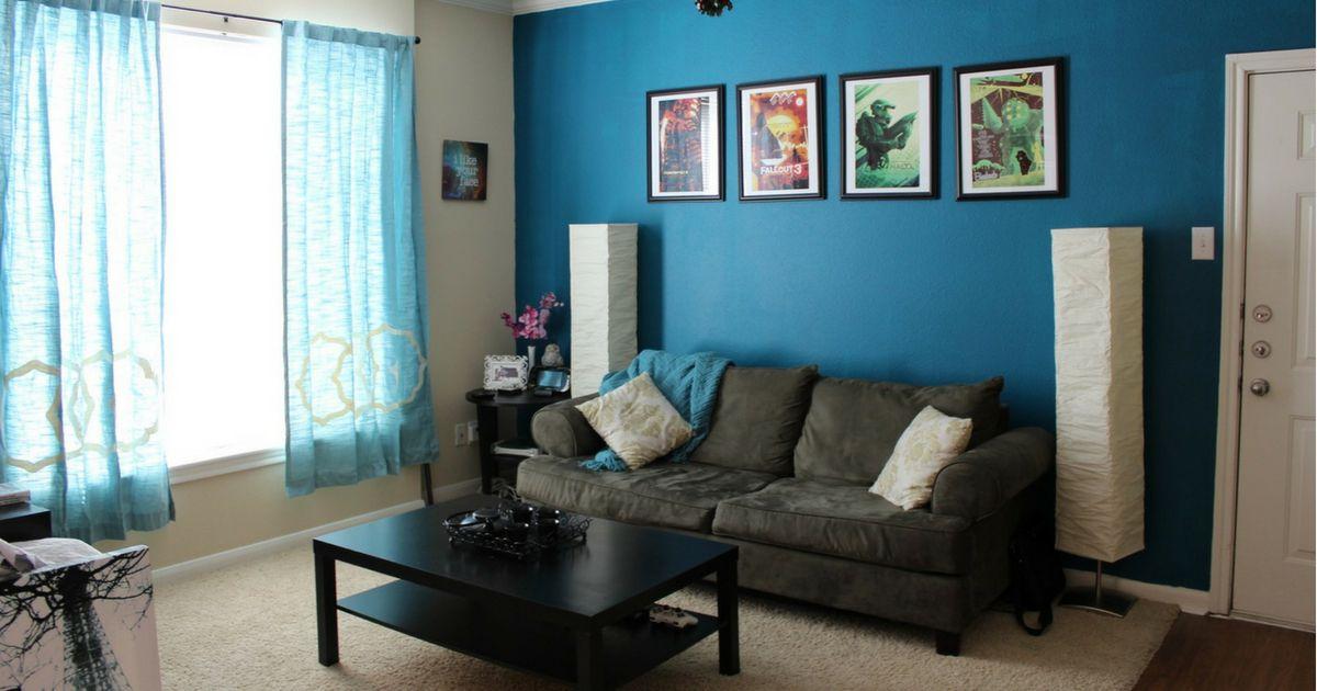 Deko Rumah Biru Penting Konsep Dekorasi Bertema Biru Jadikan Ruang Tamu Lebih Sejuk Impiana