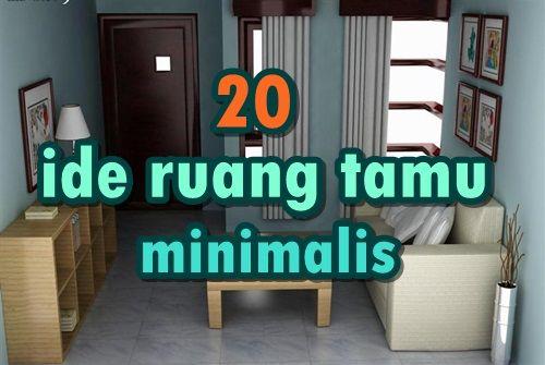 dekorasi ruang tamu minimalis Medium 1