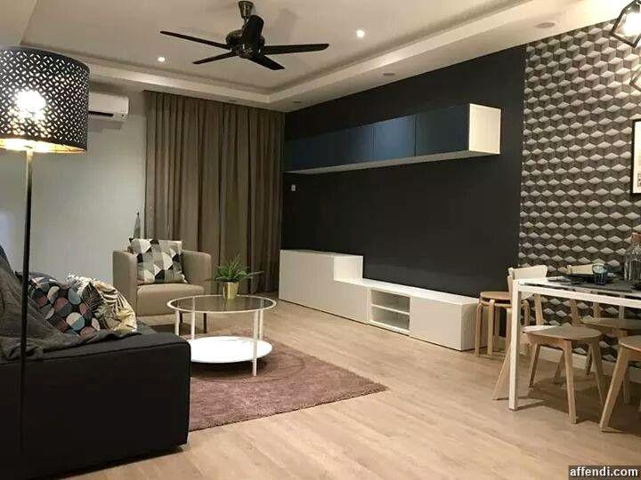 30 Gambar Inspirasi Dekorasi Rumah Apartment Affendi Avec Deco Rumah Flat Et Inspirasi Dekorasi Rumah Kecil Oleh Ariff Latiff Deco Design Affendi