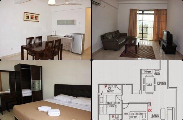 Deko Rumah Flat Kos Rendah Berguna Hotel Murah Di Kuala Terengganu