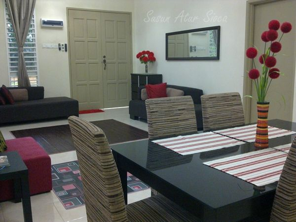 Deko Rumah Flat Kos Rendah Meletup Ruang Tamu Saya Yang Kos Rendah Susun atur Sioca