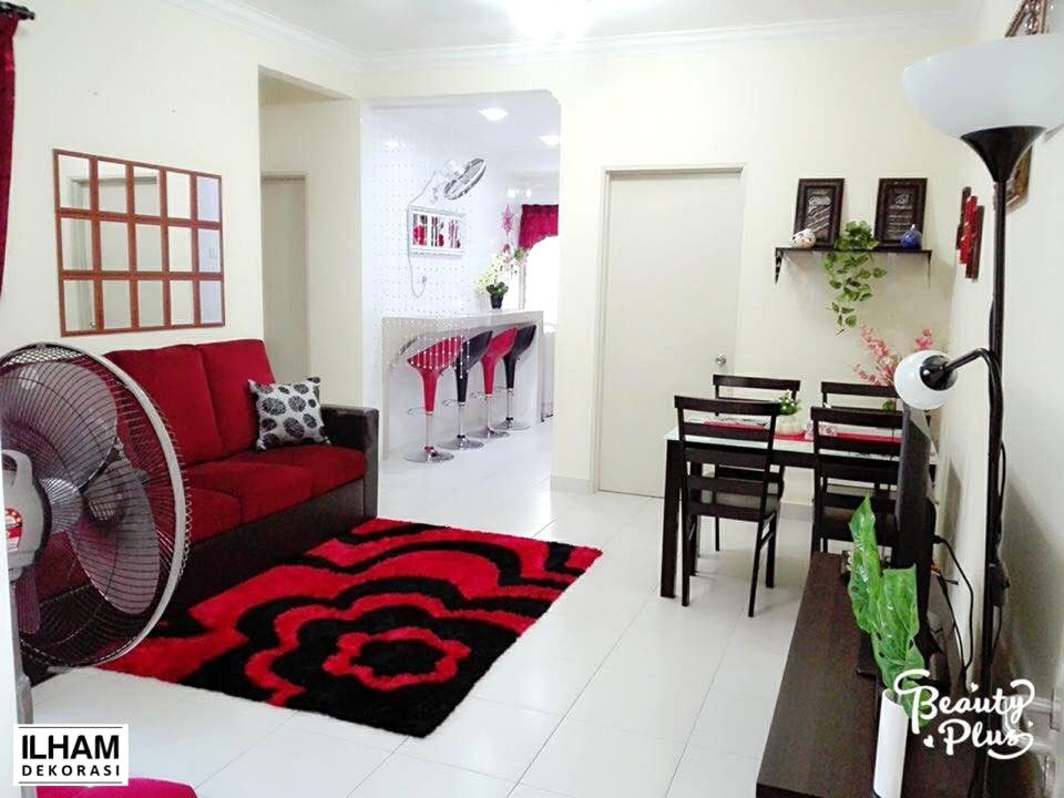Ilham Dekorasi Dekorasi Menarik Rumah Flat Kos Rendah Avec Deco Rumah Flat Et Media Id 5 Image May Contain Indoor Deco Rumah Flat