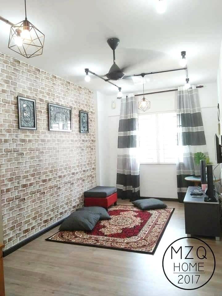 Deko Rumah Low Cost Flat 650sqft Tema Friends BN Barisan Avec Deco Rumah Flat Et Media Id 7 La Imagen Puede Contener Interior Deco Rumah Flat Interior