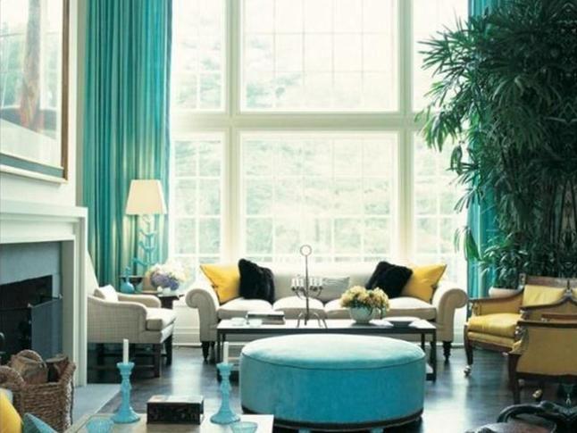 Deko Rumah Hijau Bermanfaat Membuat Ruang Tamu Cerah Dengan Dekorasi Rumah Biru Hijau