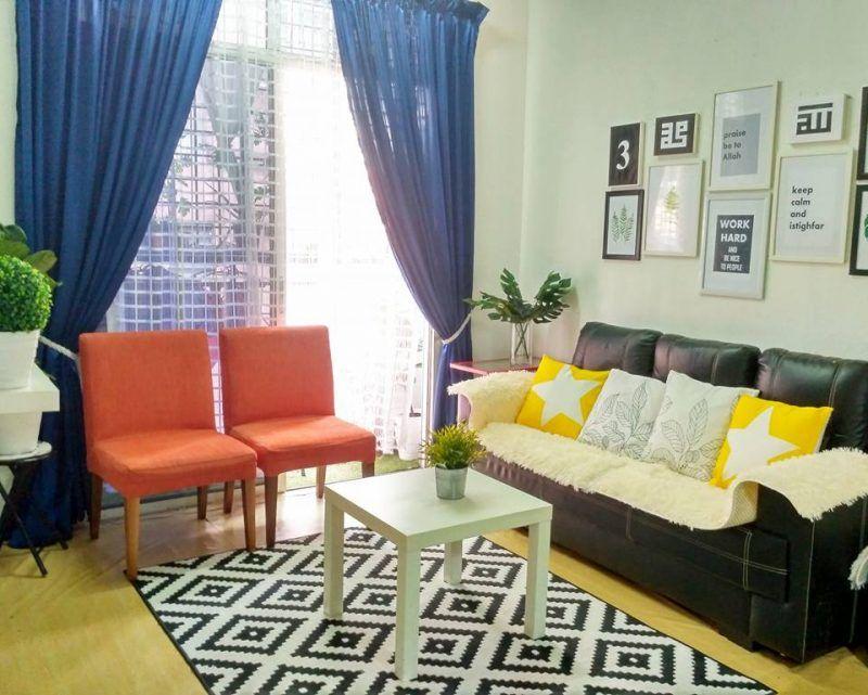 Deko Rumah Kampung Hebat Gambar Hias Rumah Sewa Flat 805 Sqf Dengan Perabot Hotel Terpakai