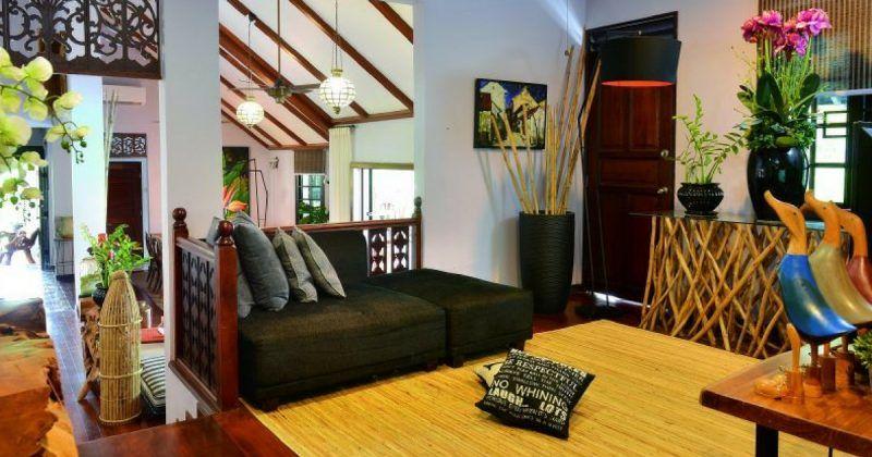 Deko Rumah Kampung Menarik Ingatkan Resort Di Bali Rupa Rupanya Rumah Dato Aliff Syukri Impiana