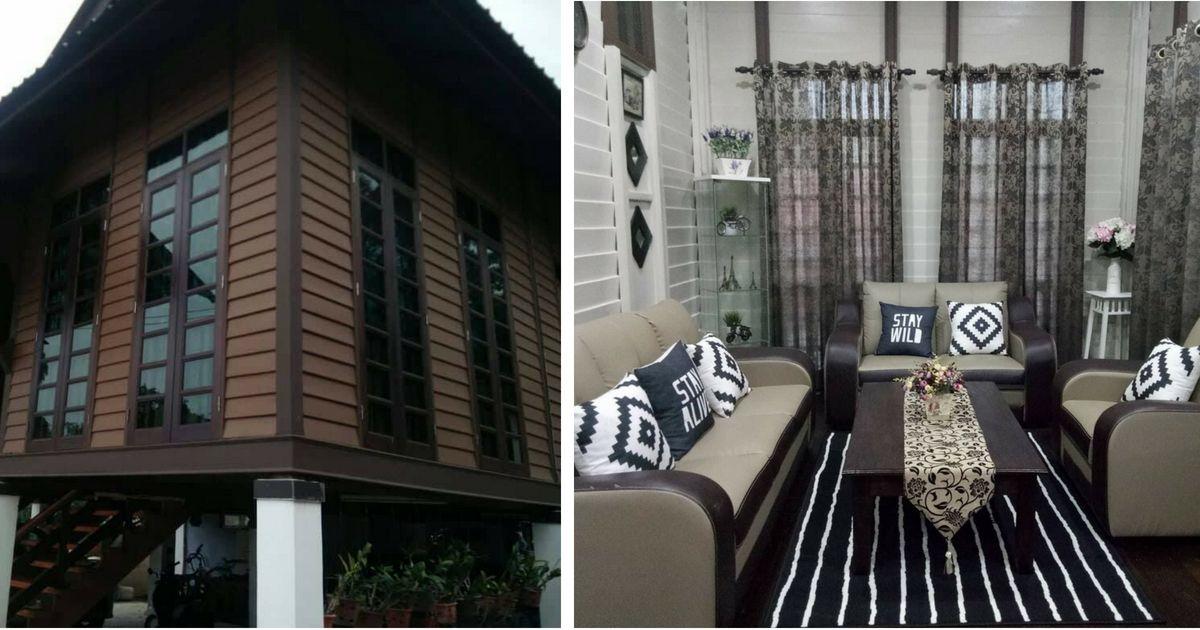 Deko Rumah Kayu Kampung Menarik Rumah Kayu Pusaka Terapkan Konsep Moden Tengok Lah Hasilnya Impiana