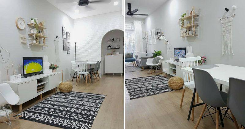 Deko Rumah Kayu Kampung Penting Pemilik Pilih Tema Biru Deko Homestay Hasilnya Memang Cantik Sejuk