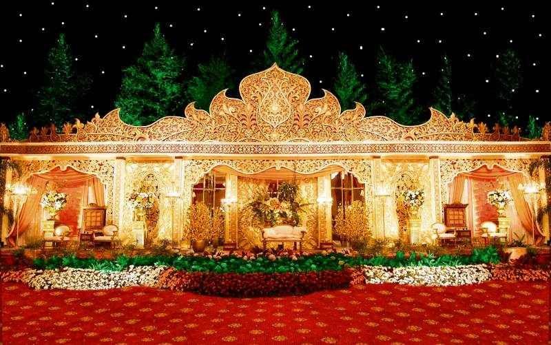 Dekorasi Pernikahan Di Rumah Yang Mewah 16 Terbaik Ide Kreatif Dari 4 Ide Dekorasi Pernikahan Dengan