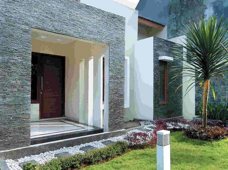 880 Koleksi Gambar Rumah Minimalis Sederhana Batu Alam Gratis