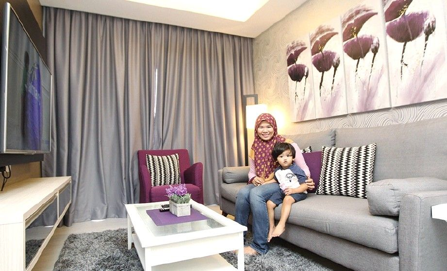 Gallery for Hiasan Dalaman Apartment Moden Kontemporari Dekorasi
