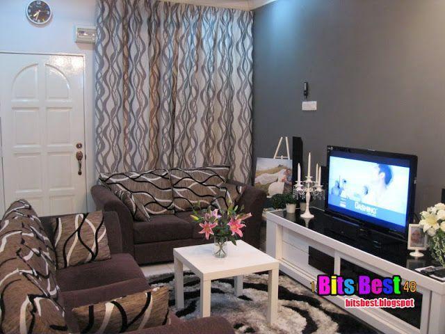 Deco Ruang Tamu Rumah Teres Kos Rendah Bits best hiasan ruang