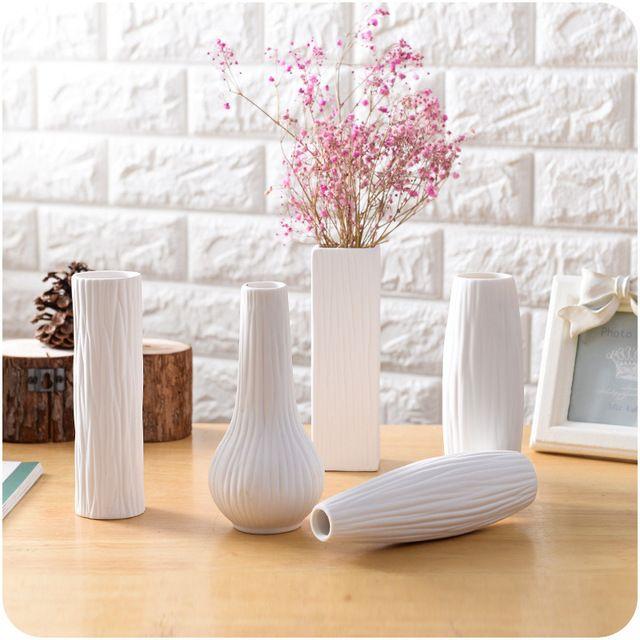 Eropa Desktop Rumah Dekorasi Keramik Kerajinan Ruang Duduk Pot Bunga Botol Penanaman Furnishing Artikel Rumah Tangga
