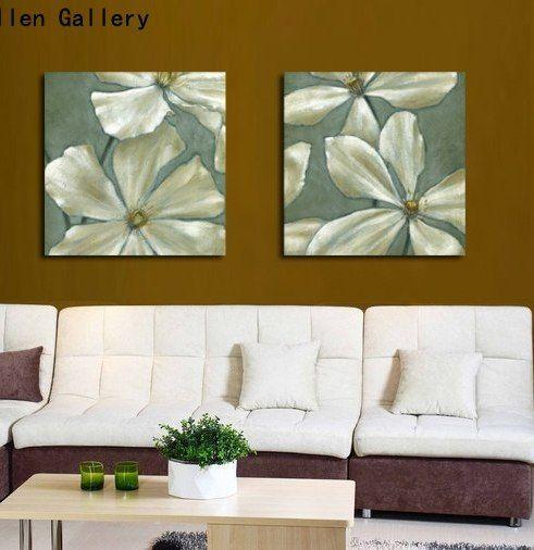 Deko Rumah Ruang Kecil Power ②dinding Lukisan Bunga Lukisan Dekorasi Rumah Gambar Dinding Untuk