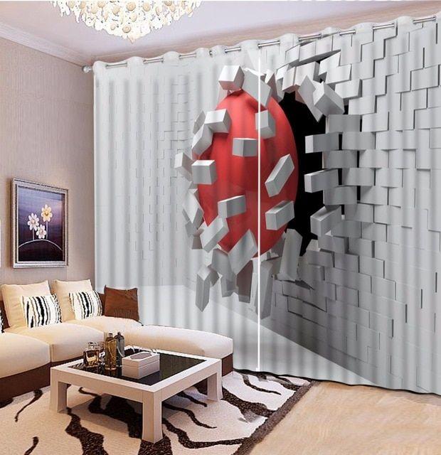 Deko Rumah Ruang Tamu Hebat Kreatif Dekorasi Rumah Tirai Pemadaman Tirai Putih Tirai Untuk Kamar