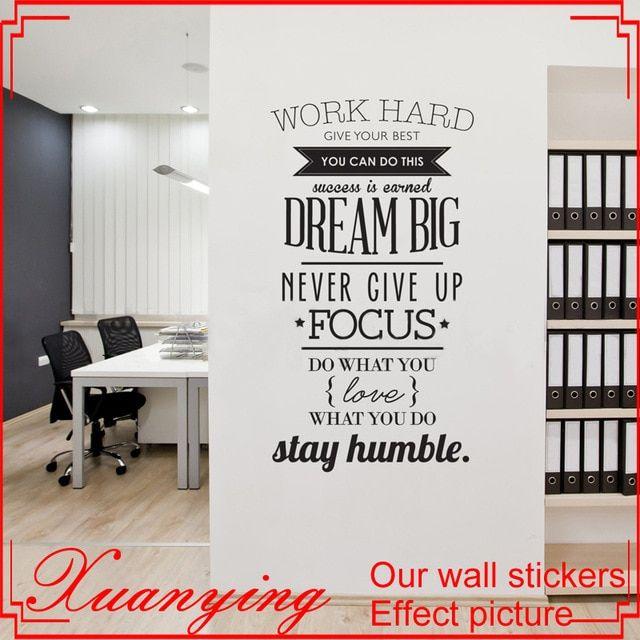 Bekerja Keras Inspirasi Wall Sticker Harga Poster Wall Art Decals Dekorasi Ruang Tamu Wallpaper Dekorasi Rumah