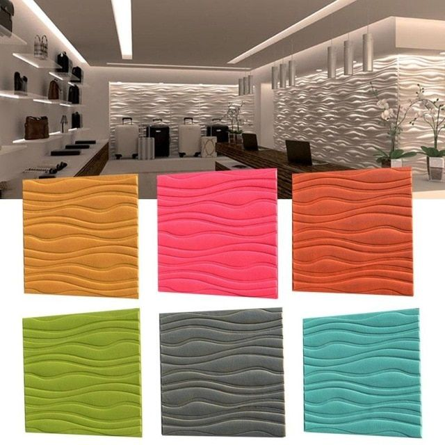 Deko Rumah Terbaik 3d Stiker Dinding Lembut Papan Pe Latar Belakang Dinding Dekorasi