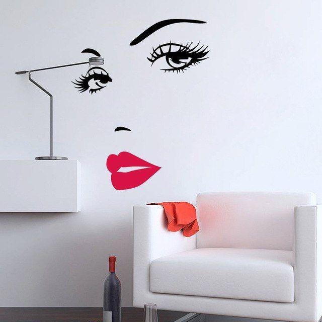 Deko Rumah Terbaik Vinyl Y 3d Wall Sticker Dekorasi Kamar Dekorasi Rumah Ruang Tamu