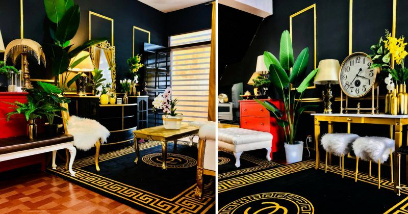 Deko Rumah Teres 1 Tingkat Baik Gambar Pemilik Pilih Tema Moden Glam Berjaya Tukar Rumah Teres 2