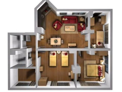 Deko Rumah Teres 1 Tingkat Bernilai Reka Bentuk Hiasan Dalaman Teres