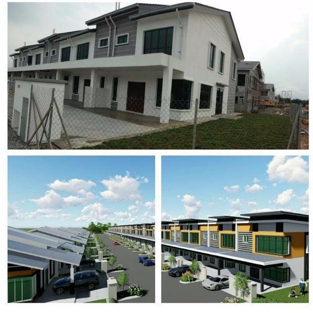 Deko Rumah Teres 20×70 Meletup Rumah Teres 2 Tingkat Harga Bermula Rm432k Semi D 1 Tingkat