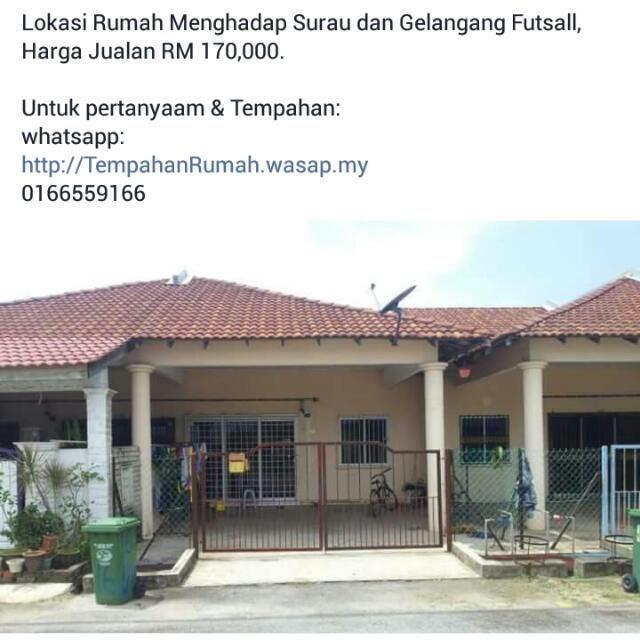 Rumah Teres Pandan Damai Kuantan Berdekatan Kemudahan Awam Surau & Futsall Court Property For Sale on Carousell