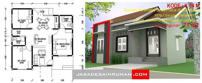 Dekorasi Rumah 3d Simple 16 Luar Biasa Ide Kreatif Dari Rumah Minimalis Sederhana Di Surabaya Jasa