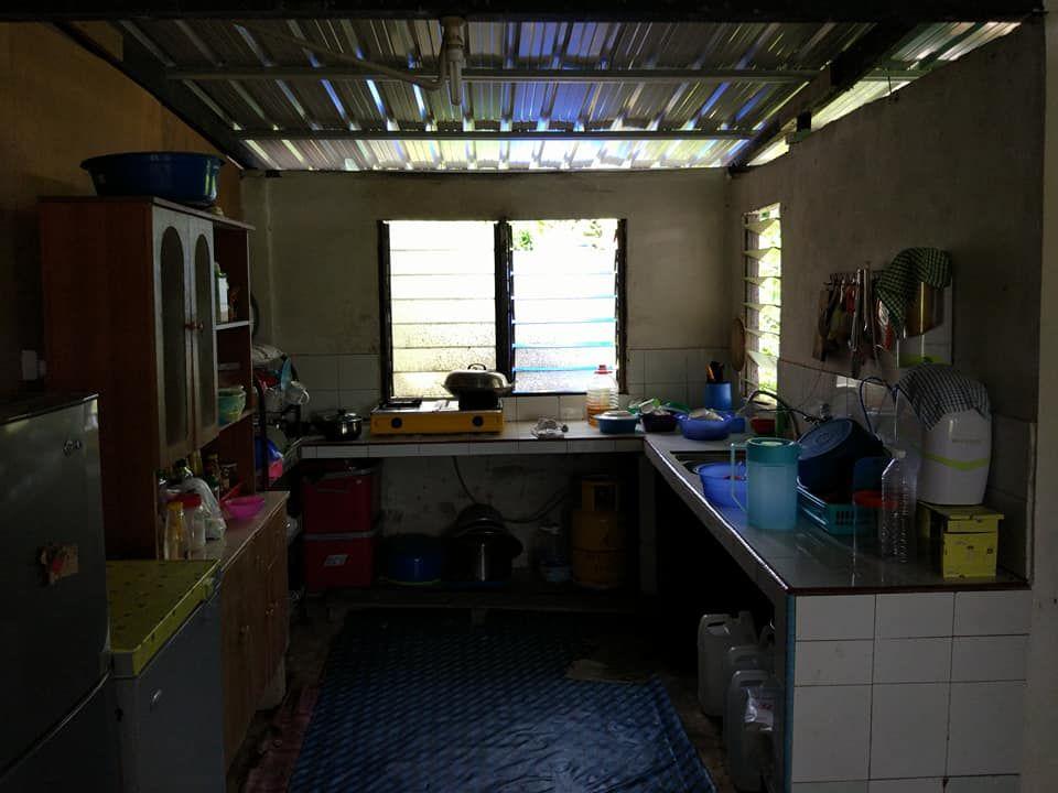 Deko Siling Rumah Terhebat Perlahan Lahan Kayuh 2 Bulan Untuk Bina Dapur Kampung Ni Nampak
