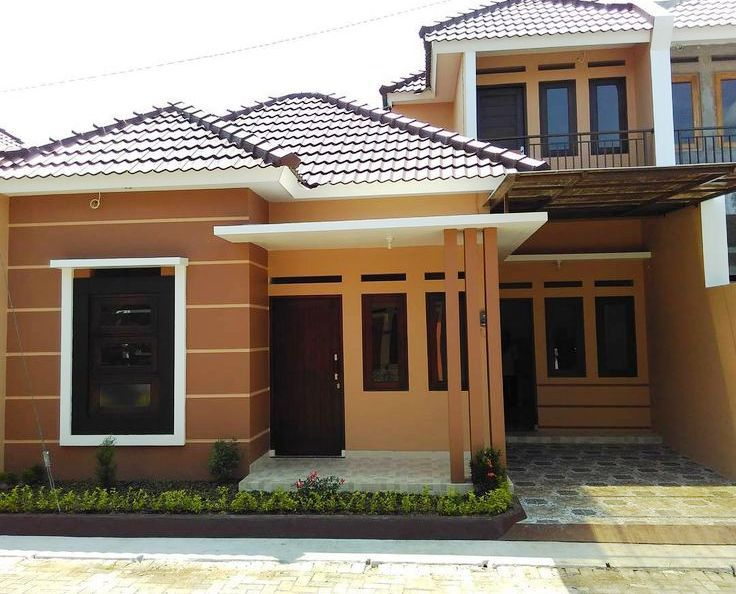 45 Gambar Contoh Warna Cat Rumah HD Terbaru