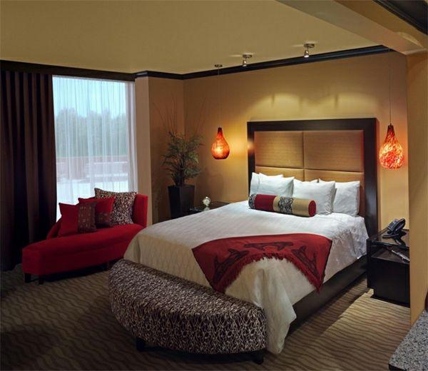 idea idea bilik tidur reka bentuk dinding Modern loghat dinding